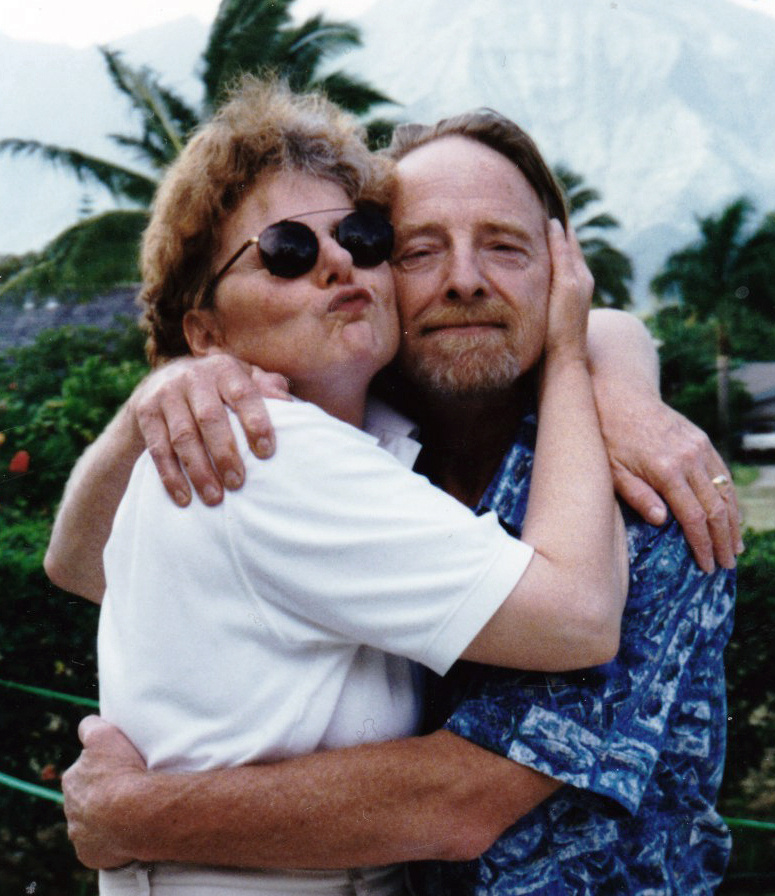 A photo of Stephanie and her brother John